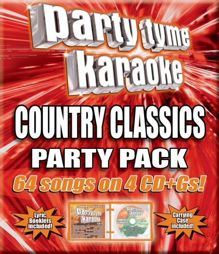 Party Tyme Karaoke - Country Classics Party Pack (64-song Party Pack) [4 CD]