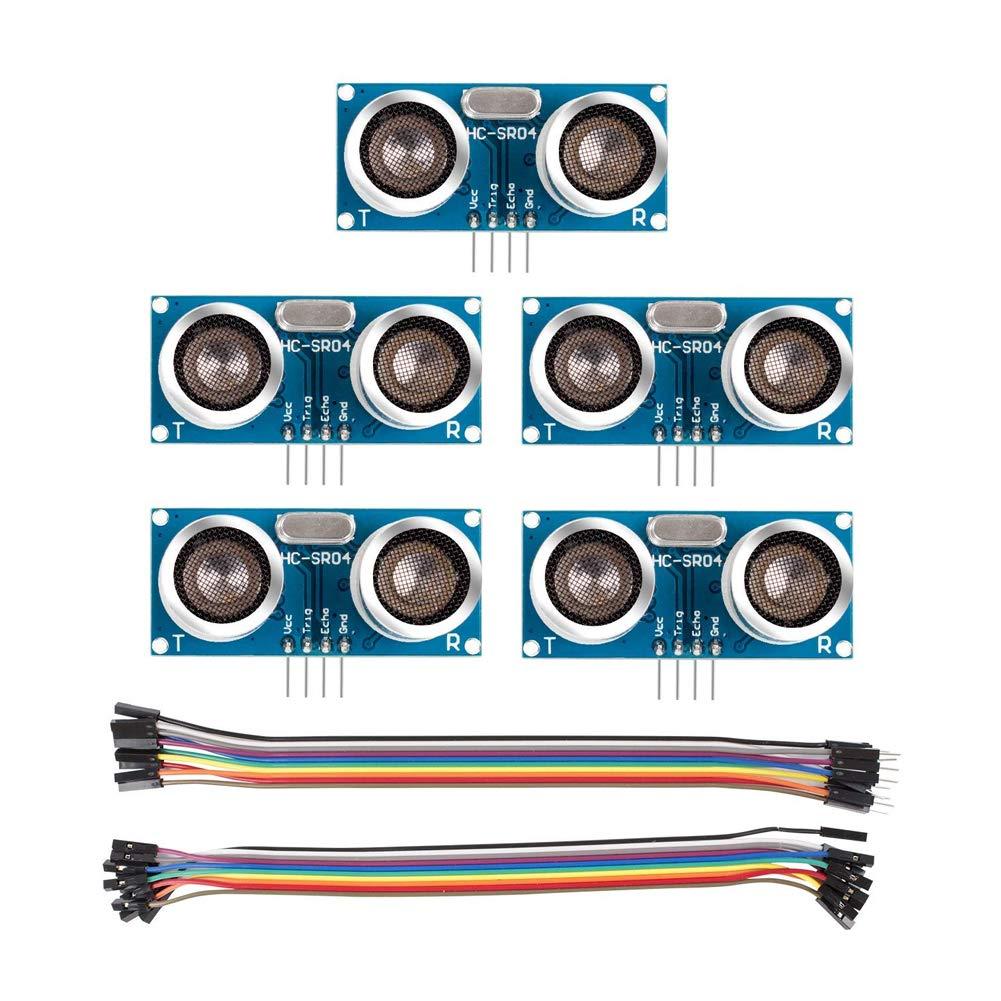 Eiechip HC-SR04 - Módulo ultrasónico de sensor de distancia para ...