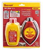 Starrett EXACT 4 oz. ABS water resistant with rubber grips Chalk Box with Red Chalk