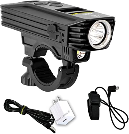 Black COB LED White Front Handlebar Headlight Flashlight Torch Bicycle Bike //836