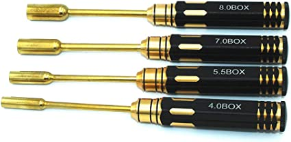 TiNi Hex Driver Allen Metric RC Hand Tool Set 1.5 2.0 2.5 3.0mm for RC DRONE CAR