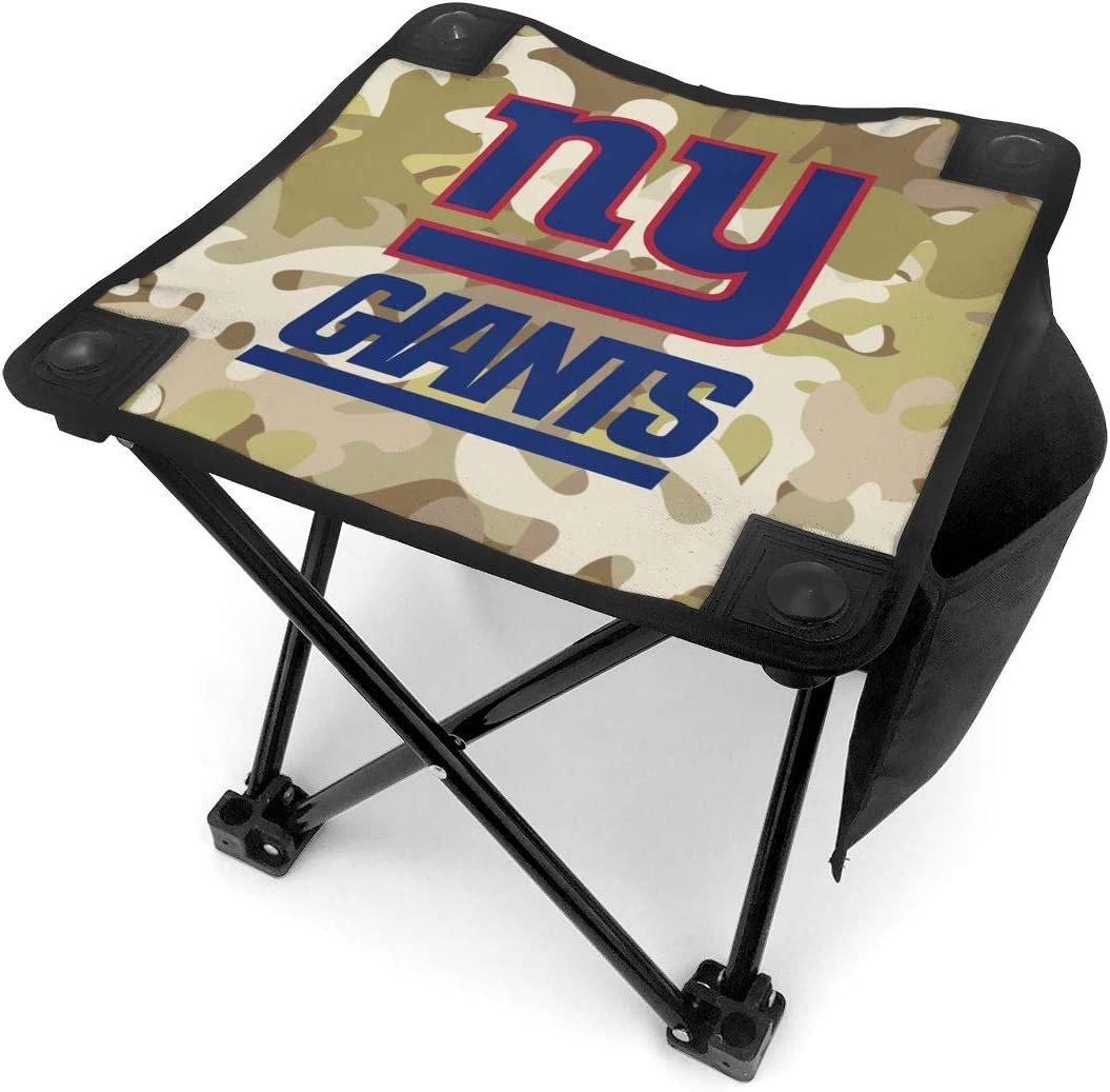 Makami Folding Camping Stool Camo Cincinnati Bengals Portable Slacker Chair for Fishing, BBQ, Hiking and Travel