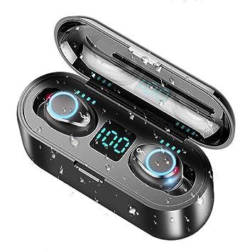 WZTO Auriculares Bluetooth Inalámbricos Control Táctil Auriculares ...