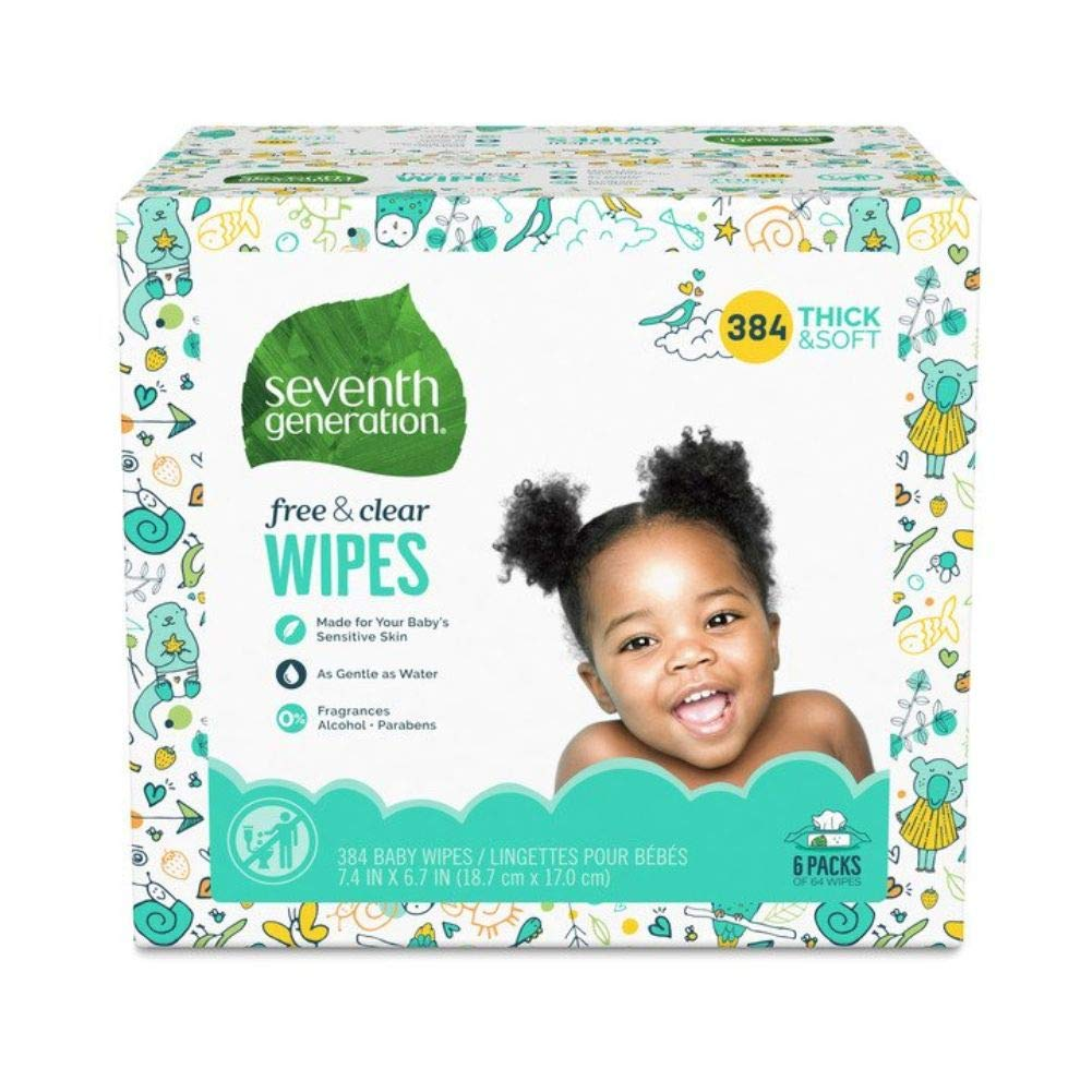 Seventh Generation Baby Wipes: The Best Non-Toxic Baby Wipes