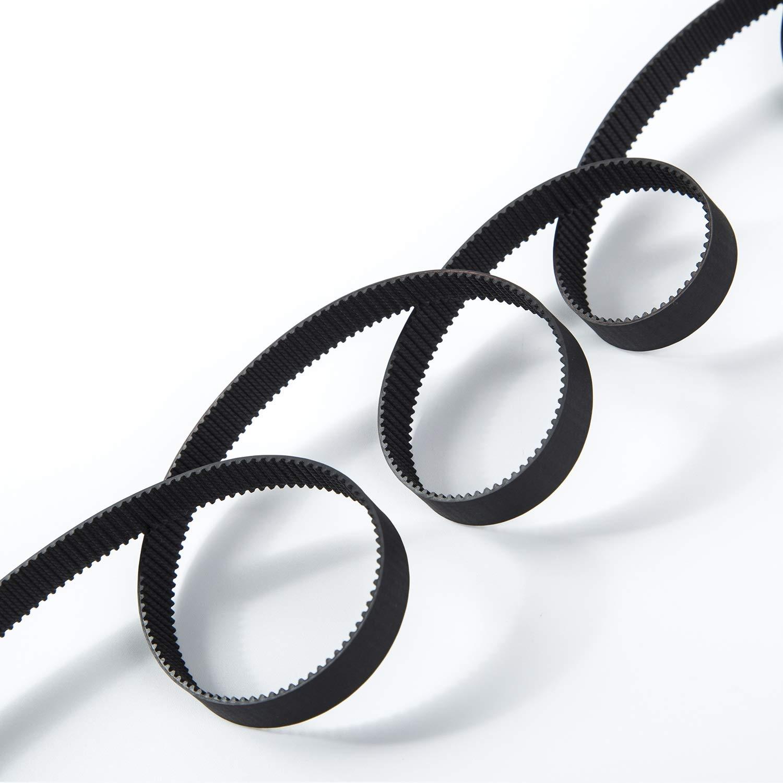 S.Y.M 3D Printer Printer Accessories Pen Timing Belt 10mm Width Rubber Fiberglass for 3D Printer (Opened-Belt) 5M by S.Y.M (Image #3)