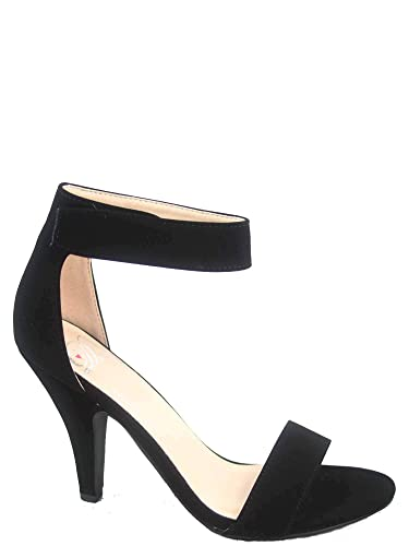 dbb5e9904d6 Delicious Rosela Women s Sexy Open Toe Ankle Strap High Heel Dress Sandals  Shoes (5.5 B