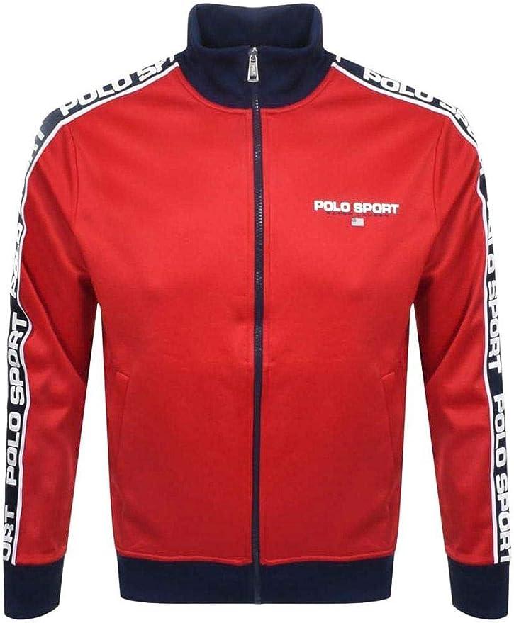 Sudadera Polo Sport Track Rojo Hombre: Amazon.es: Ropa y accesorios