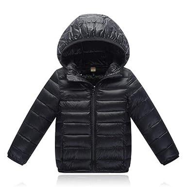 6003bf3ab215 Amazon.com  Janice Davis Ultra Light Down Jacket Kids Winter ...