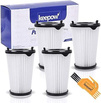 KEEPOW 4 Set Filtros para Aspiradora Ergorapido AEG CX7 CX7-2 para todos los modelos, Pack Familiar: Amazon.es: Bricolaje y herramientas