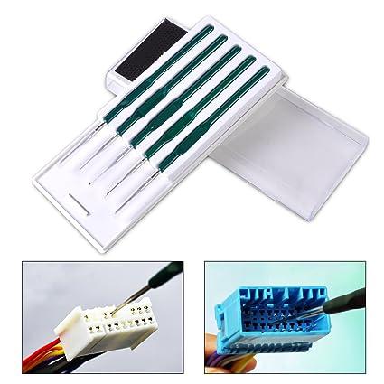 SATKIT Kit especial herramientas para desmontar los cables y pins de conectores de coche todas las