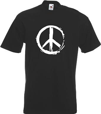 Cnd Peace Symbol Ban The Bomb Retro T Shirt Tshirt Amazon