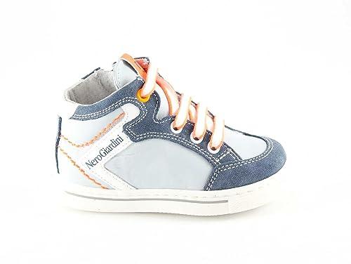 Nero Giardini Junior 23811 Perla Scarpe Bambino Mid Sneaker Zip  Amazon.it   Scarpe e borse dbf9668d4ea