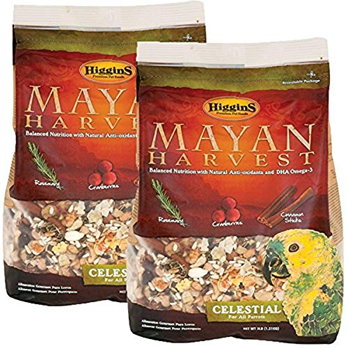 Image of Higgins 466213 Mayan Harvest Celestial For All Parrots - 6 Pound
