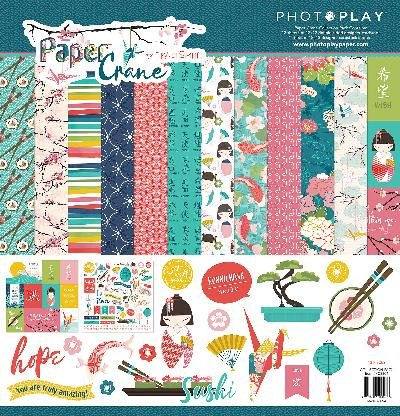 Photoplay Paper PC8804 Pprcrane Collection Paper Pack
