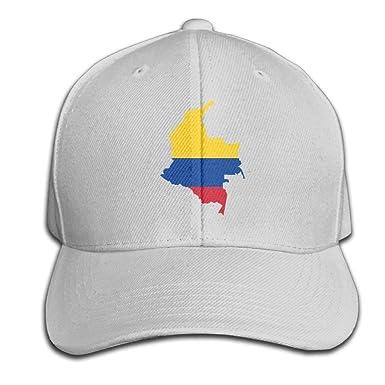 Helen vi Mapa de la Bandera de Colombia Gorra de béisbol Ajustable ...