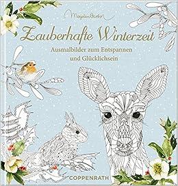 Ausmalbuch Zauberhafte Winterzeit Marjolein Bastin Ausmalbilder