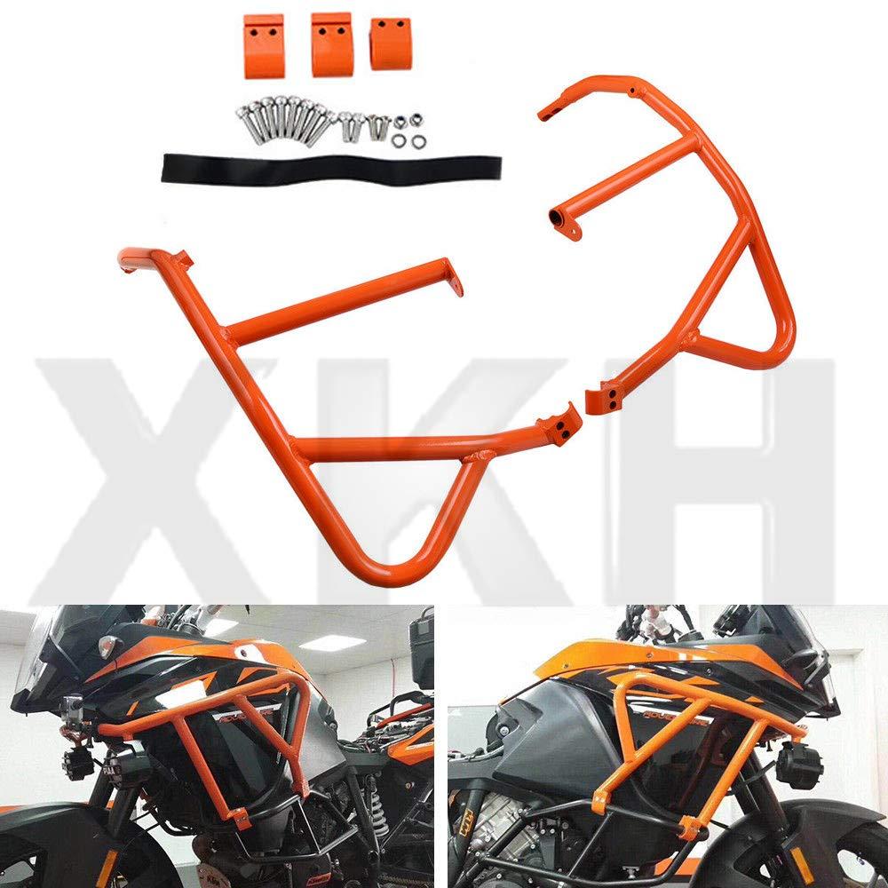XKH- Replacement of For KTM 1050 1090 1190 1290 Super ADV Upper Sides Crash Bar Frame Bumper Guard