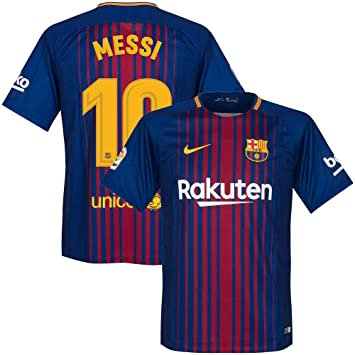 buy online 15b1a d75e0 Barcelona Home Messi Jersey 2017/2018 (Official Printing ...