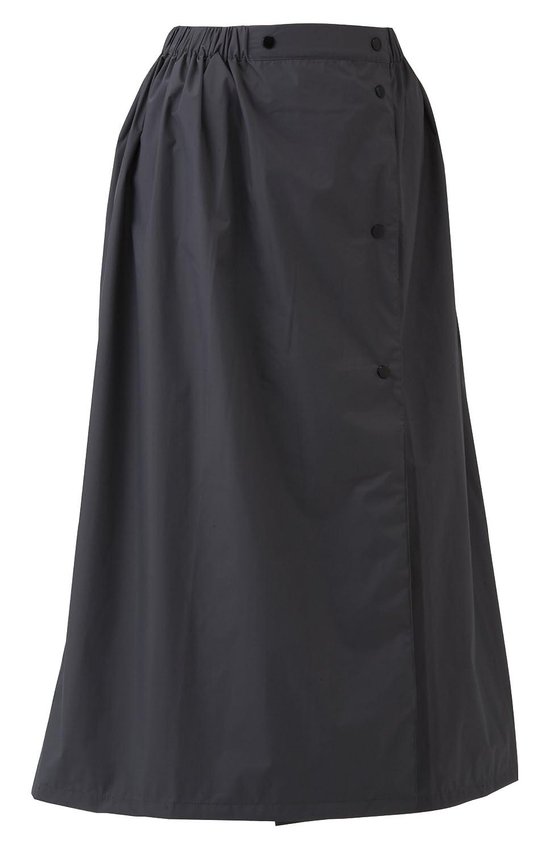 スミクラ 透湿ストリートシャワースカート 全6サイズ レインスカート グレー SS 防水透湿 [正規代理店品] B019RVPSOU SS SS