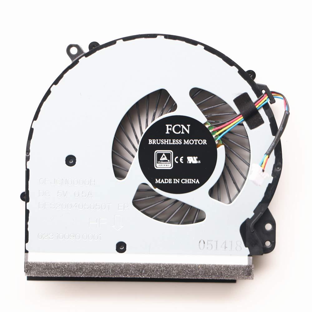 Cooler para HP 17-ac 17-ac001tx 17-ac002tx 17-ac003tx 17-ac101tx 17-ac102tx 856682-001