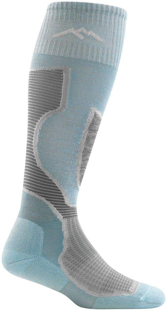 Darn Tough Outer Limits with OTC Padded Light Cushion - Women's Light Blue Large by Darn Tough