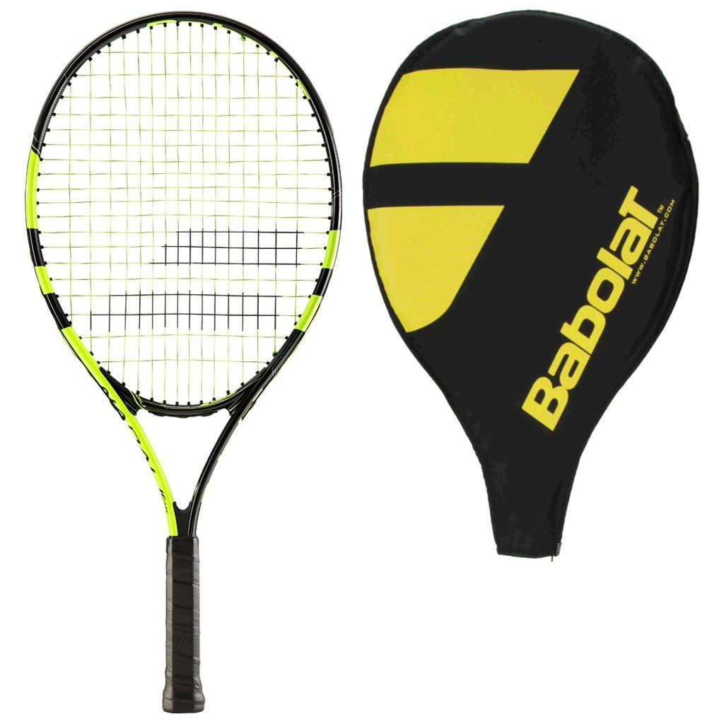 Babolat Nadal 25 Junior Tennis Racquet Strung with Cover