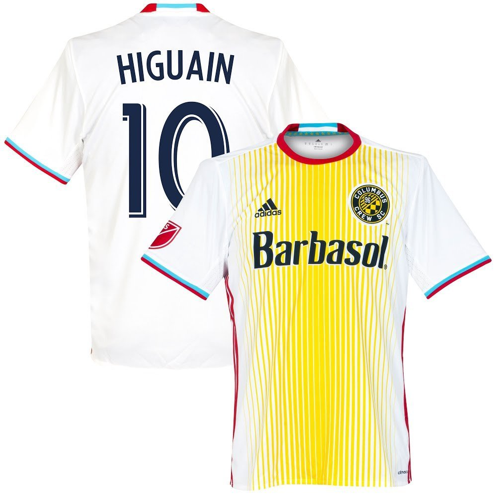 2016 Columbus Crew Away Trikot + Higuain 10 (Fan Style) - S