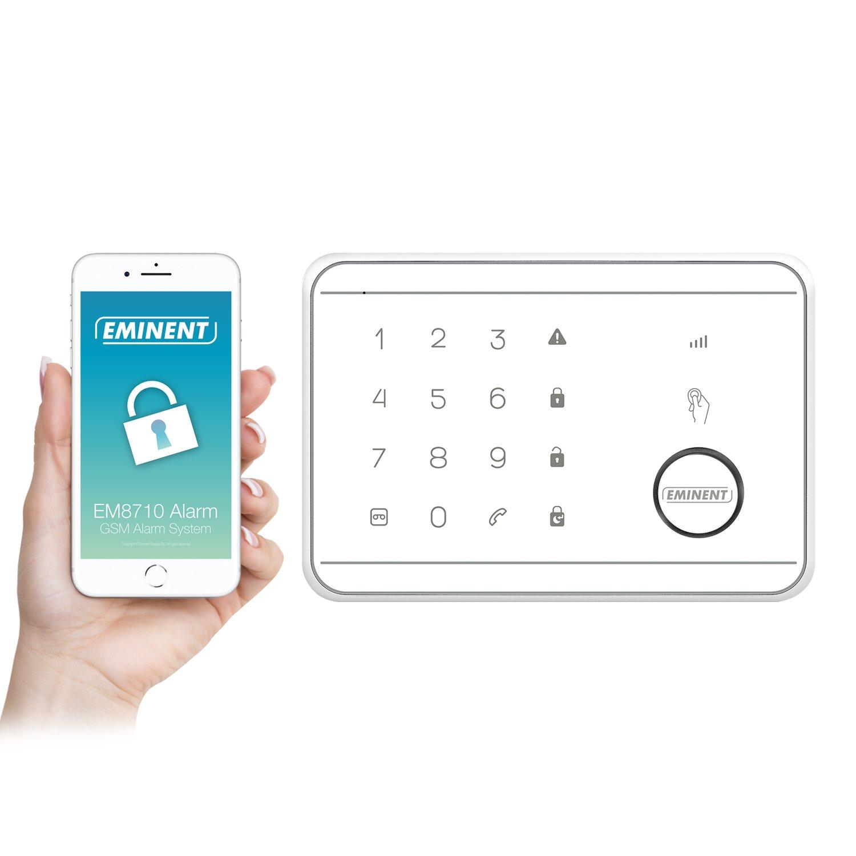 53aa7c263 Eminent EM8710 sistema de alarma de seguridad Blanco - Sistemas de alarma de  seguridad (Inalámbrico, Alemán, Holandés, Inglés, Español, Francés,  Italiano, ...