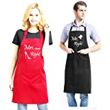 Mr. and Mrs. Aprons Couples Present for Bridal Shower, Newlywed, Engagement