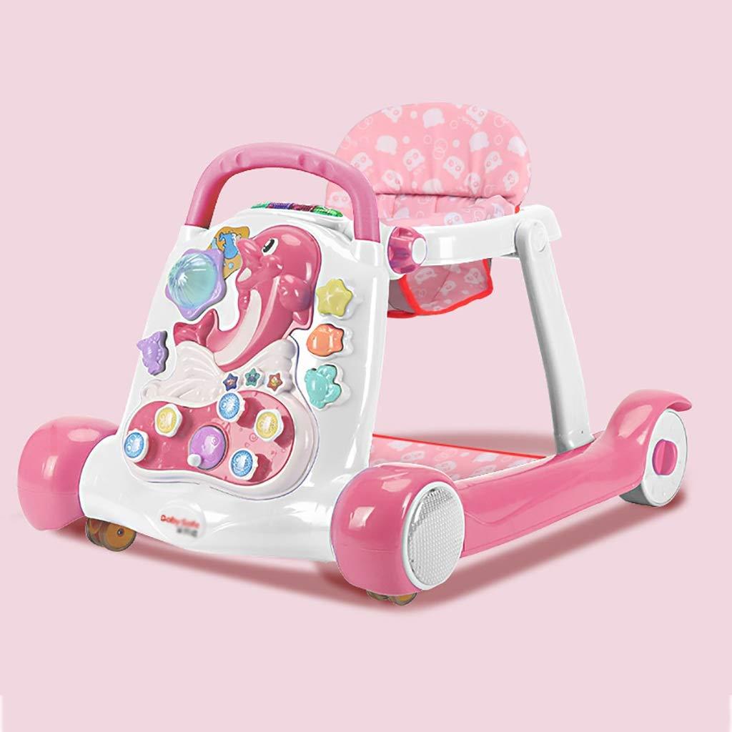 LFY Andador para bebés con Bandeja de Actividades, fácil de Plegar ...