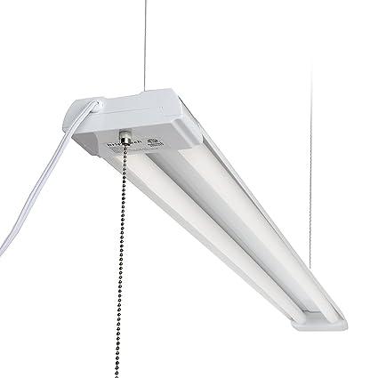 Brightech LightPRO LED Shop Light - 20 Year Life, 4FT 40 Watt ...