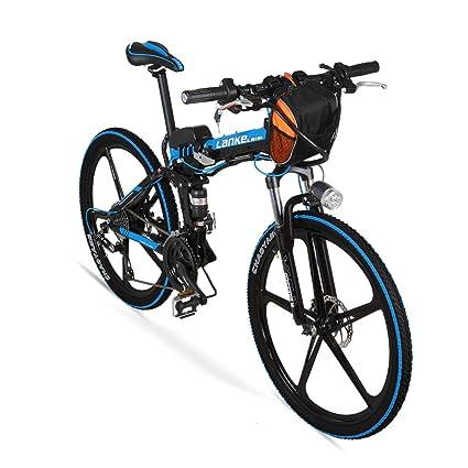 JPFCAK, Eléctrico, Bicicleta, Plegable, Montaña, Bicicleta, Vespa, Rueda De