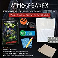 Atmosfearfx the Witching Hour with Rear Projection Screen and Flash Drive