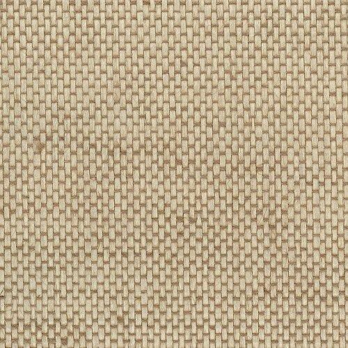 Manhattan comfort NW488-422 Johnson Series Paper Pearl Coated Basket Weave Grass Cloth Design Large Wallpaper, 36