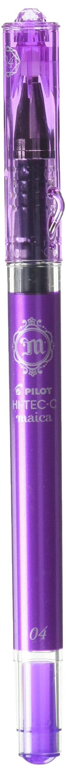 Bolígrafo Pilot Hi-Tec-C Maica Gel Violeta Fino (LHM-15C4-V)
