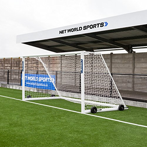 Forza Alu110 Soccer Goal (Choose Your Size 12ft x 4ft to 24ft x 8ft) Aluminum Soccer Goal Soccer Scenarios [Net World Sports] (12ft x 6ft Socketed)