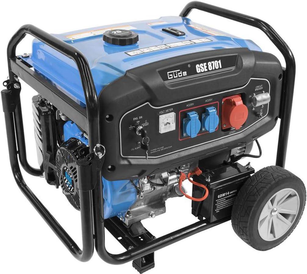 G/üde Benzin Stromerzeuger GSE 8701 RS
