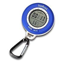 Altimètre numérique avec historique d'altitudes, baromètre, boussole, thermomètre, prévisions météo et horloge