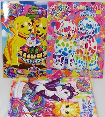 2009 Desk Calendar (Lisa Frank coloring book, activity book, and water coloring book set)