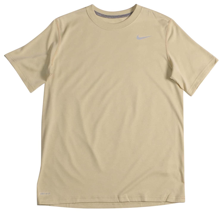 Nike 384407 Legend Dri Fit Short Sleeve Tee – Navy B0096E5QJG Medium|Vegas Gold Vegas Gold Medium