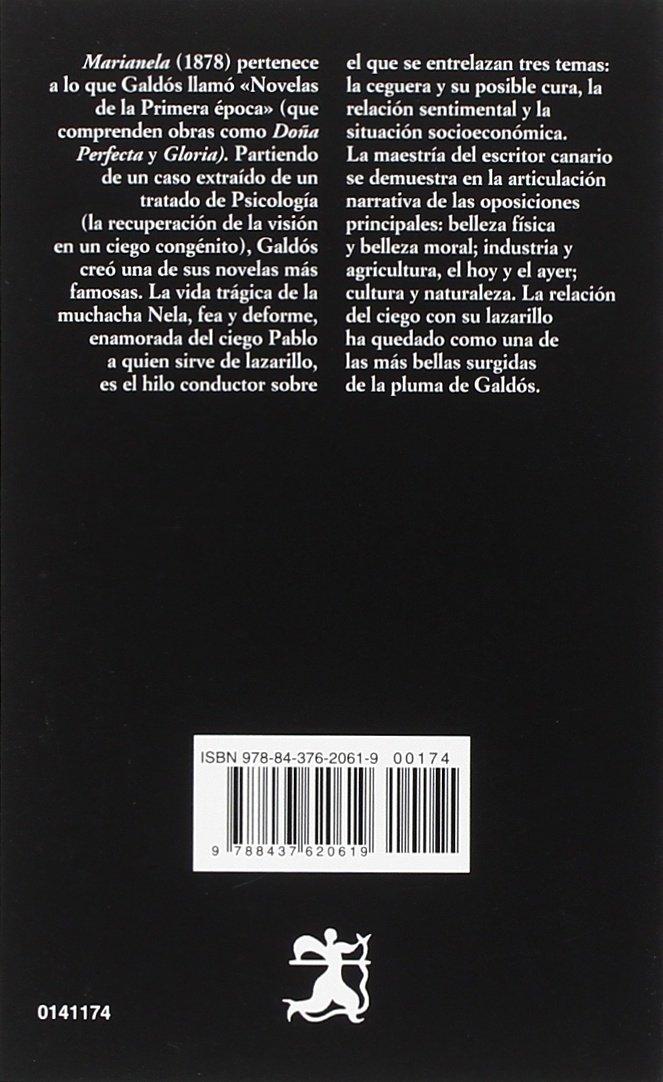 Marianela (Letras Hispanicas) (Spanish Edition): Benito Perez Galdos: 9788437620619: Amazon.com: Books