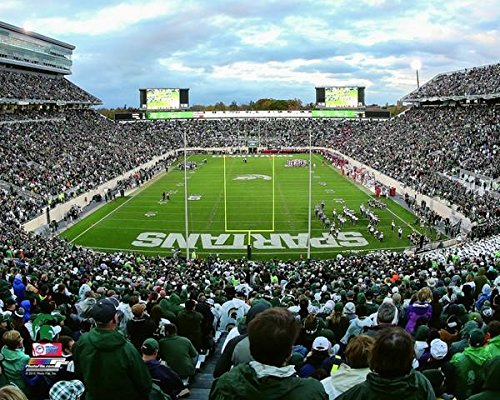 Michigan State Spartan Stadium Photo (Size: 11