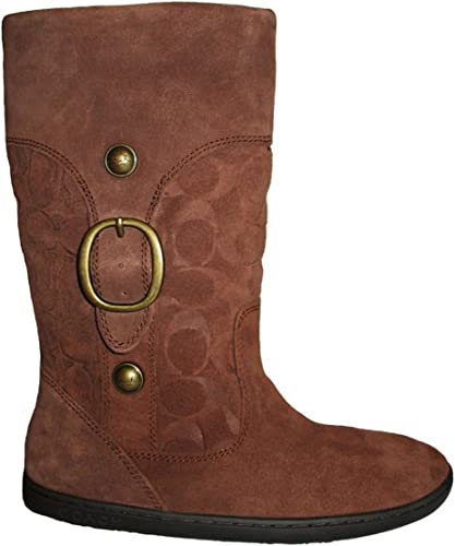 COACH Women's Meyer Suede Boots