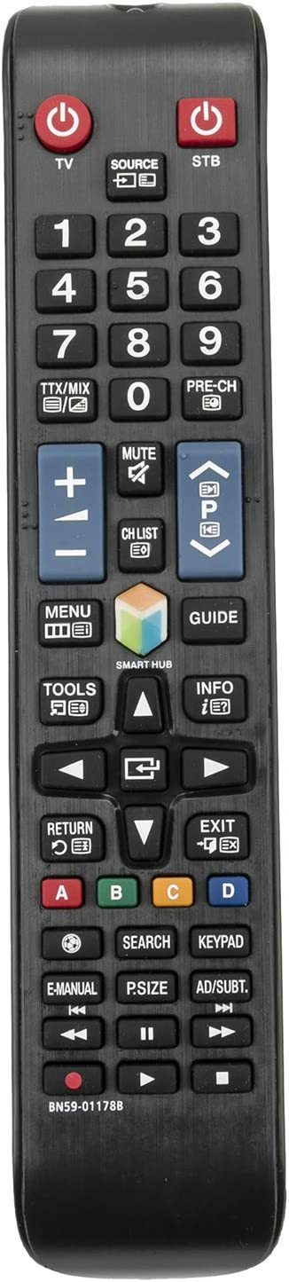ALLIMITY BN59-01178B Control Remoto reemplazado Apto para Samsung LCD TV UE32H5303 UE32H5500 UE32H5570 UE32H6200 UE32H6200AW UE40H5203 UE40H5303 UE40H5303AW UE40H5373 UE40H5500 UE40H5500AW: Amazon.es: Electrónica