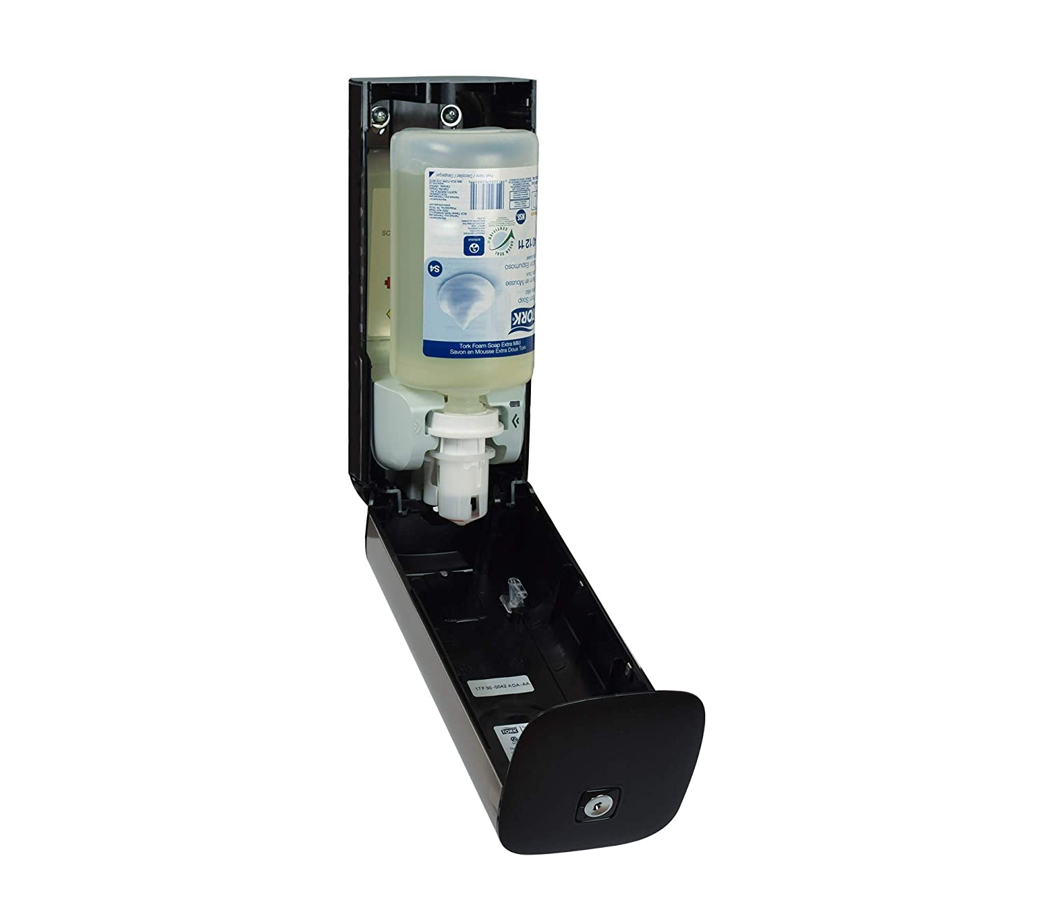 Tork 466100 Image Design Foam Skincare Automatic Dispenser with Intuition Sensor, 10.625 Height x 4.5