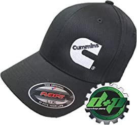 dd681775 Diesel Power Plus Dodge Cummins Flex Fit Flexfit Black Cap Fitted Hat lg/XL  Large