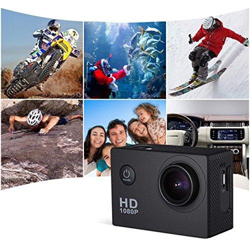 Action Camera Underwater Cam WiFi 1080P Full HD 12MP Waterproof 30m 2