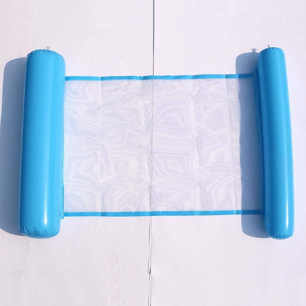 HAHAJY Cama Neta Flotante reclinable Inflable Plegable Plegable ...