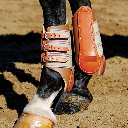 CLASSIC Equine Heavy Duty Leather Splint Boots (Small)