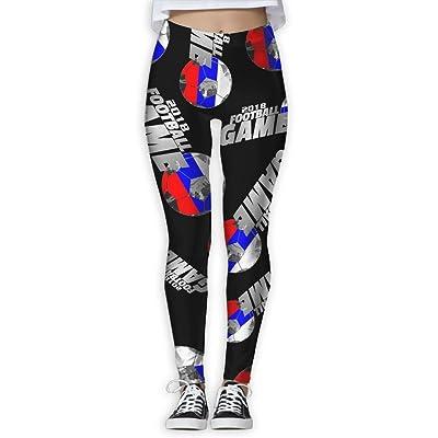 2018 Football Game Russia Women Printed Design Leggings Workout Cute Legging Yoga Pants